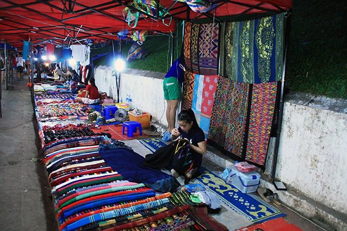 Nightmarket in Luang Prabang