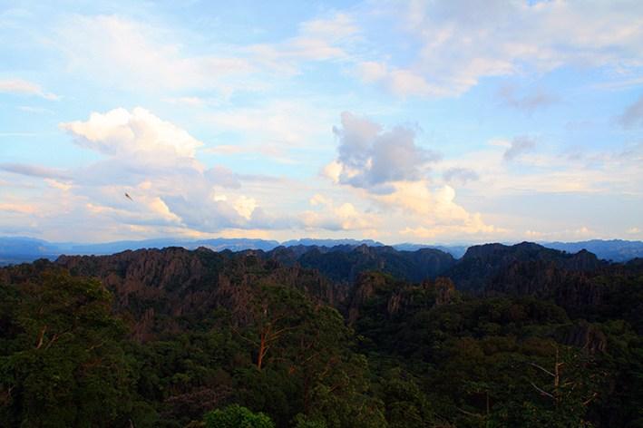 Berge in Zentrallaos