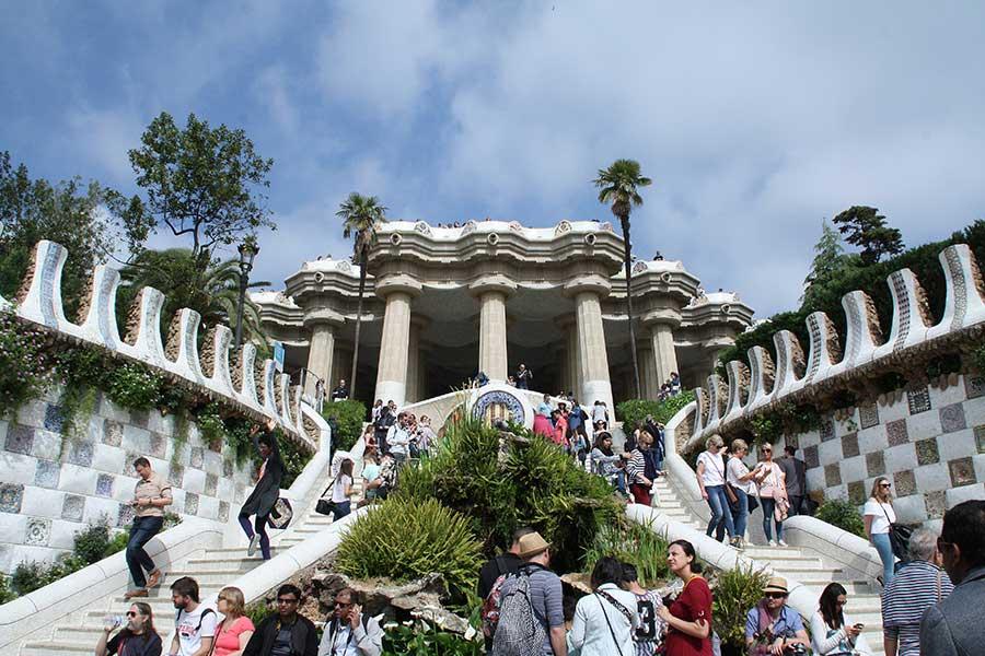Park Güell Treppe