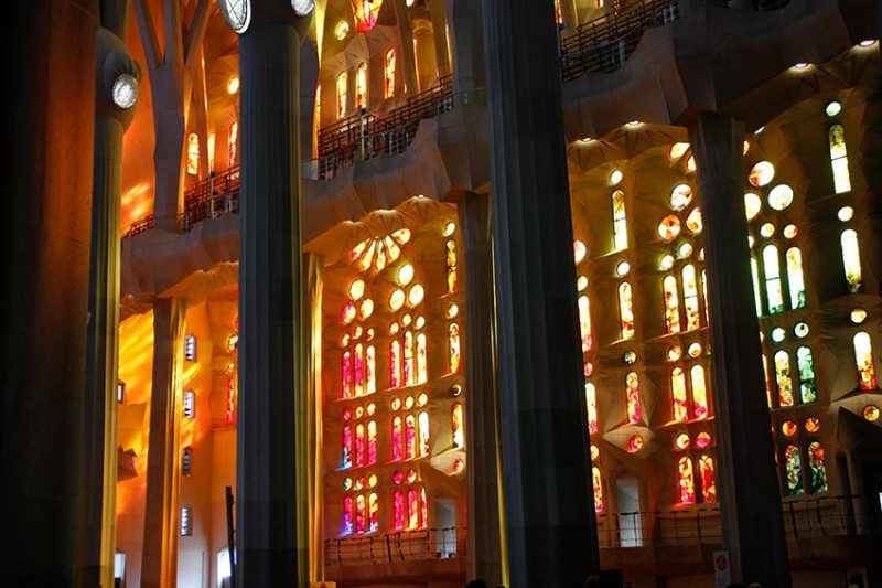 Sagrada Famiglia from inside