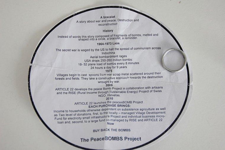 Infozettel Bomben Ring