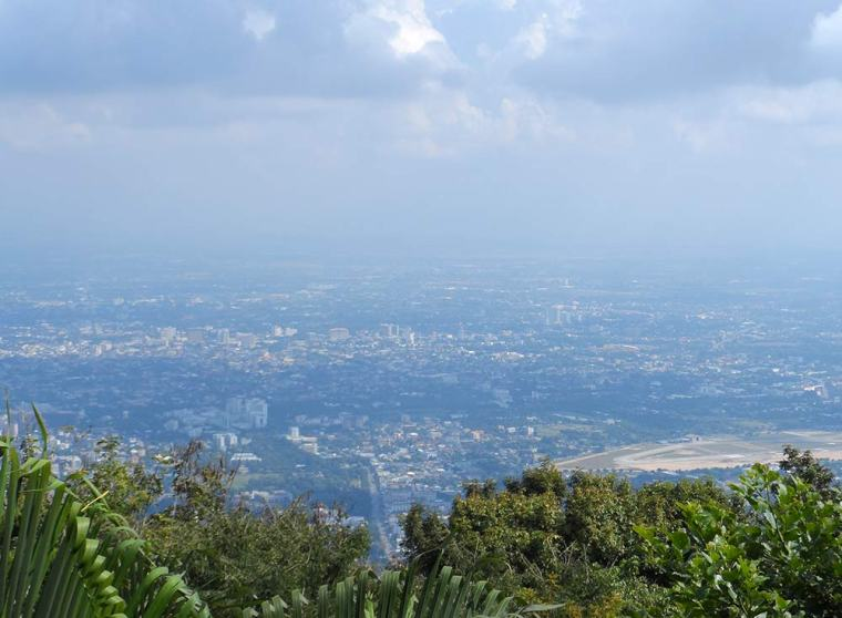 View over Chiang Mai