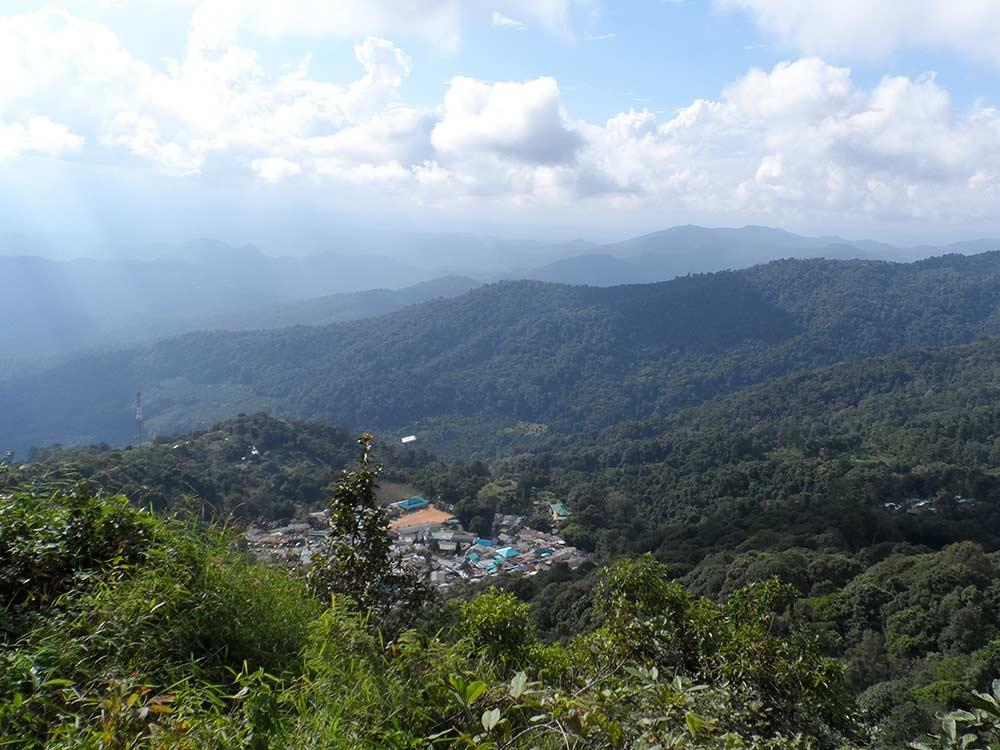 Bergdorf nähe Chiang Mai