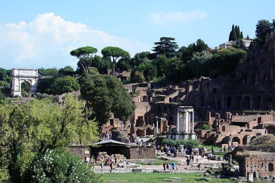Rom zu Fuß: Forum Romanum