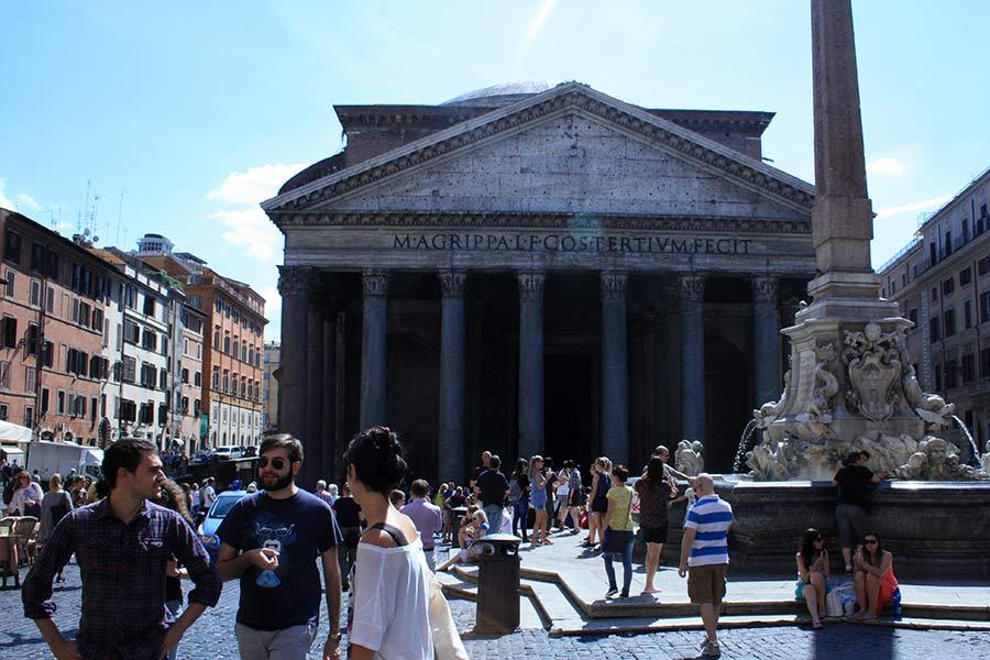 Rom zu Fuß: Pantheon