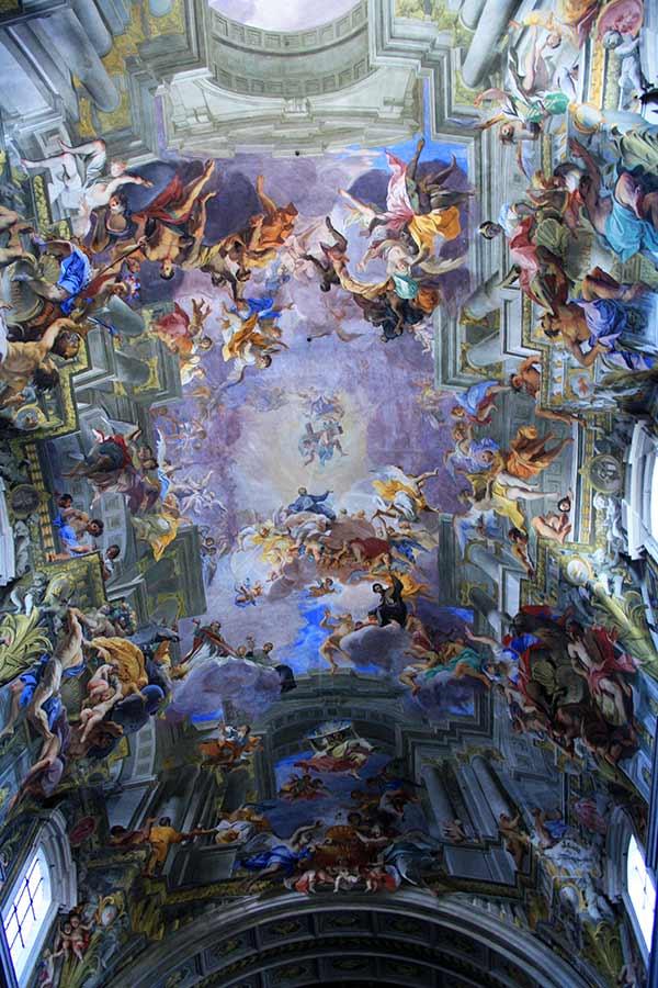 Rom zu Fuß: Santa Ignazio