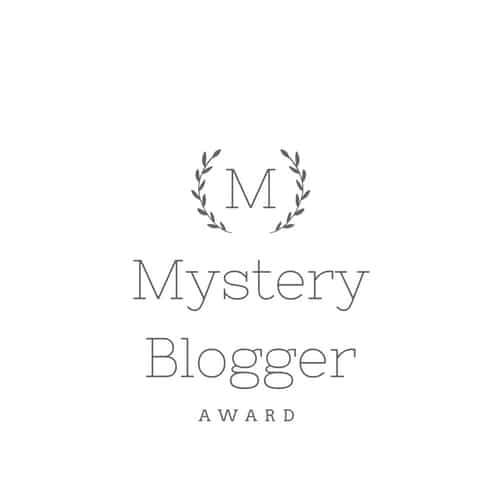 Mystery Blogger Award The Dorie