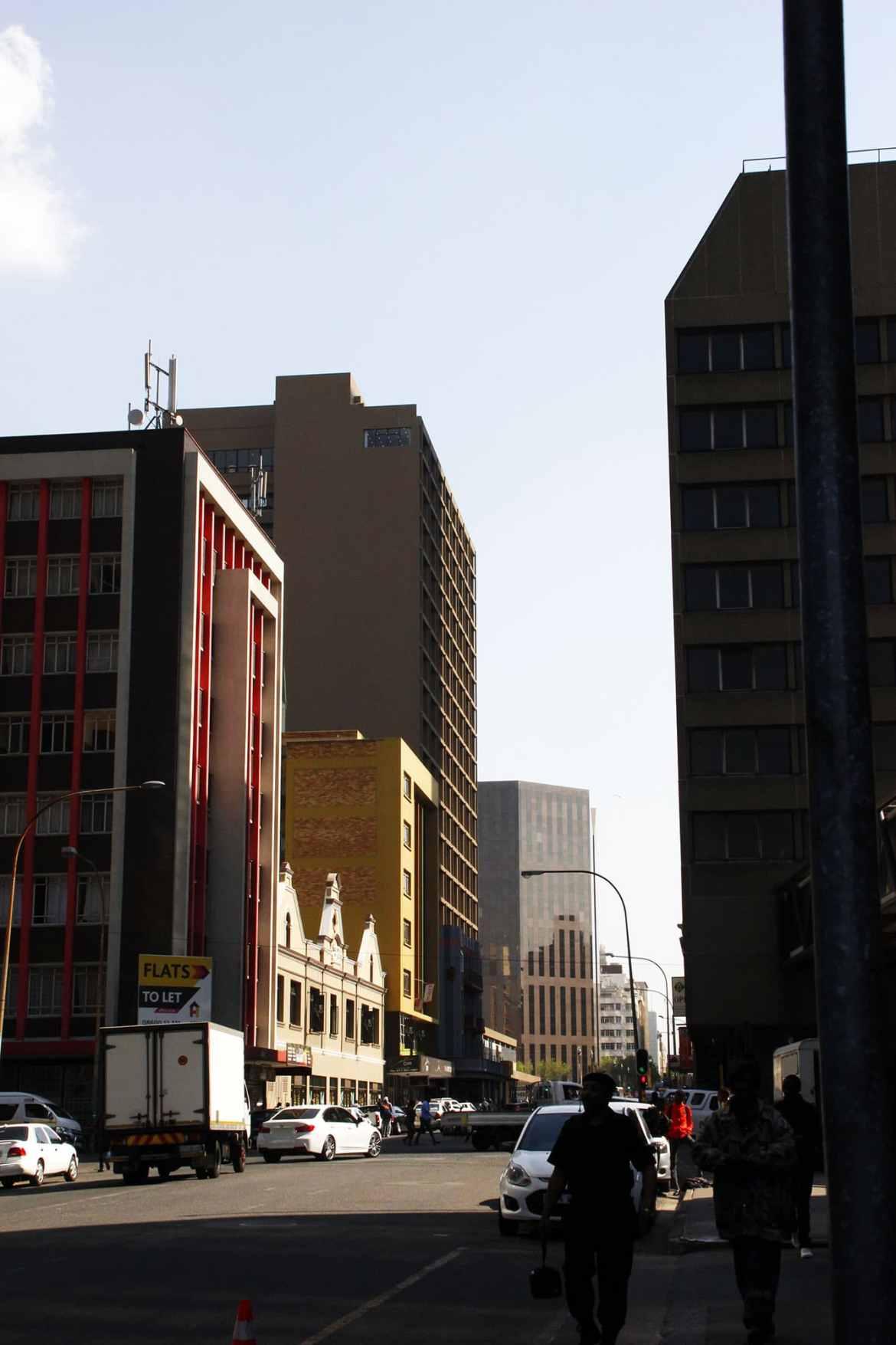 Straßenbild Johannesburg