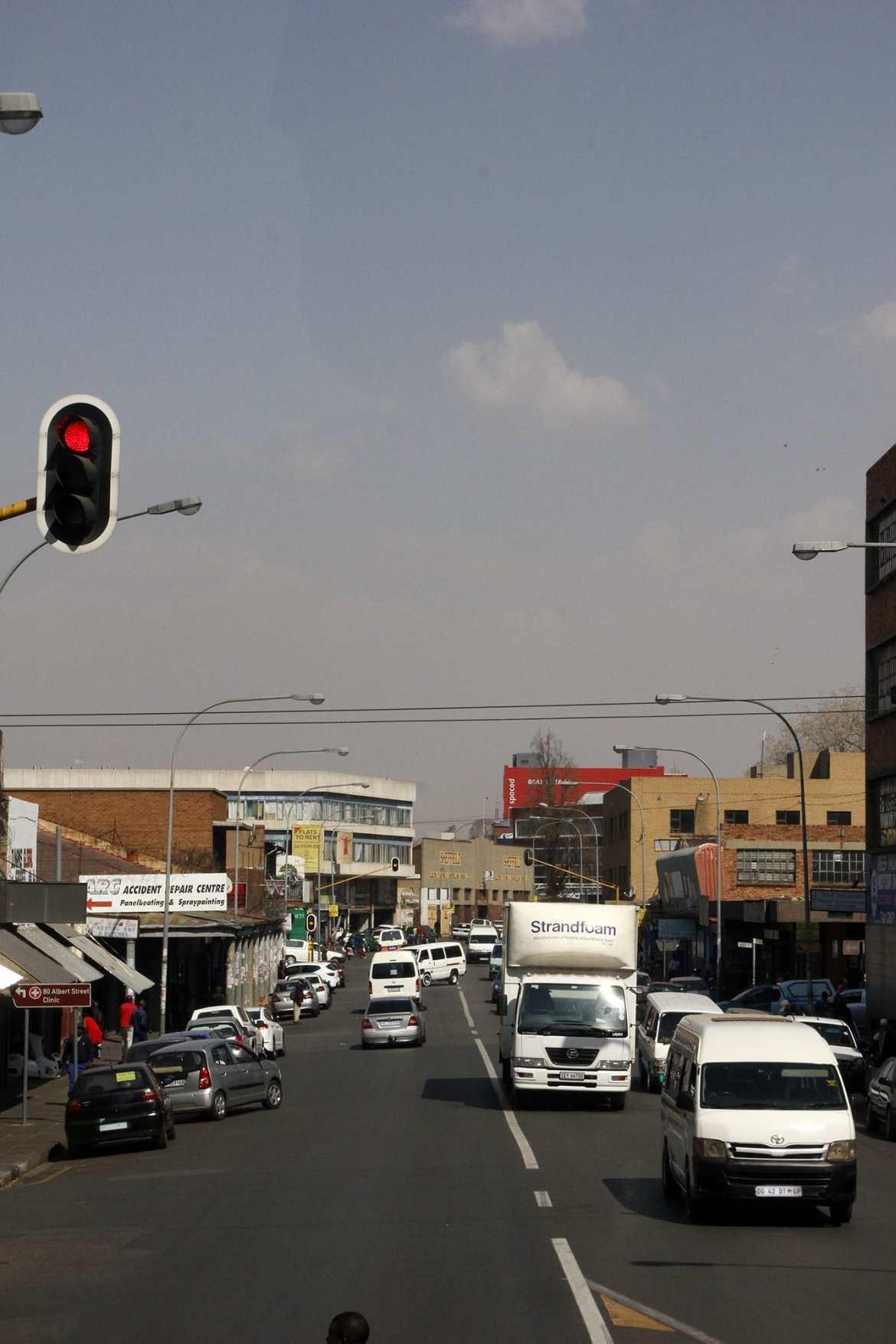 Straße Johannesburg