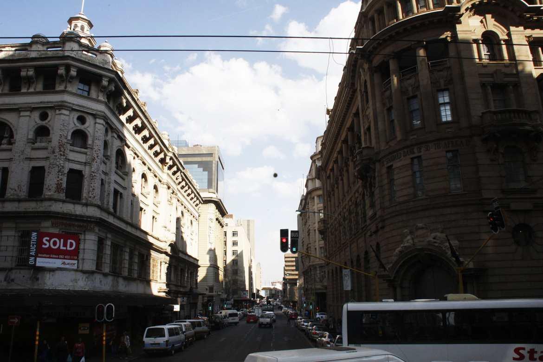 Bankenviertel in Johannesburg