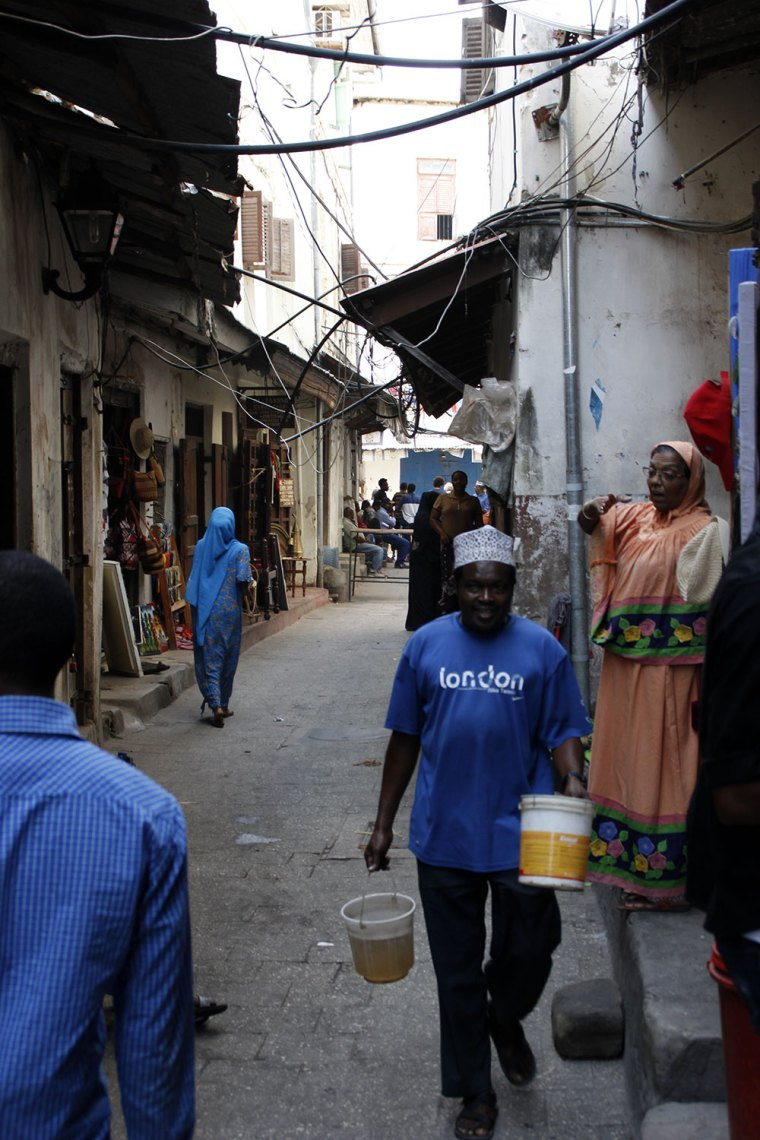 Streetlife in Stone Town