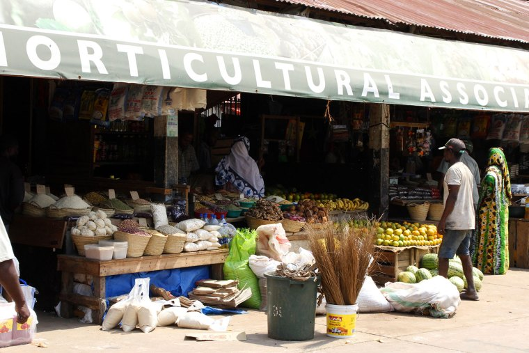 Market in Stone Town