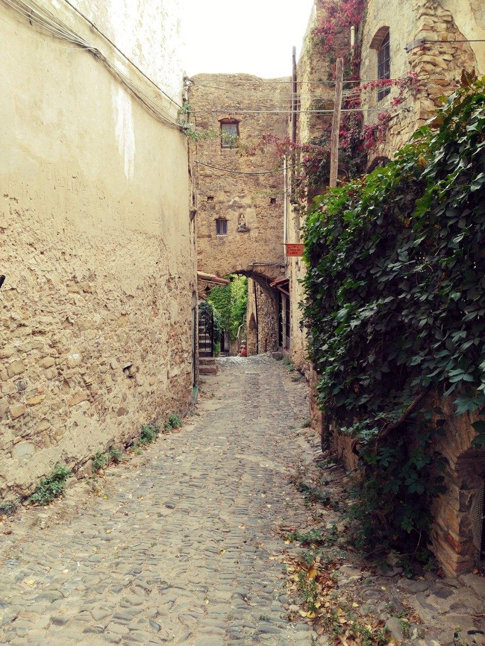 Straße in Bussana Vecchia