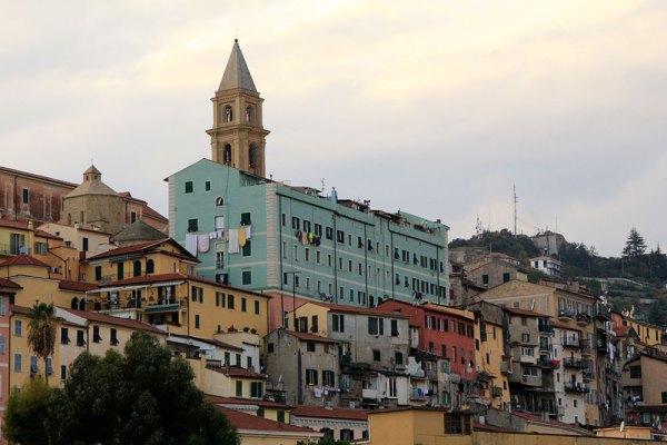 Die alte Stadt von Ventimiglia