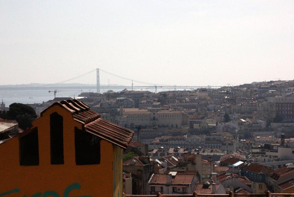 Aussichtspunkt in Lissabon