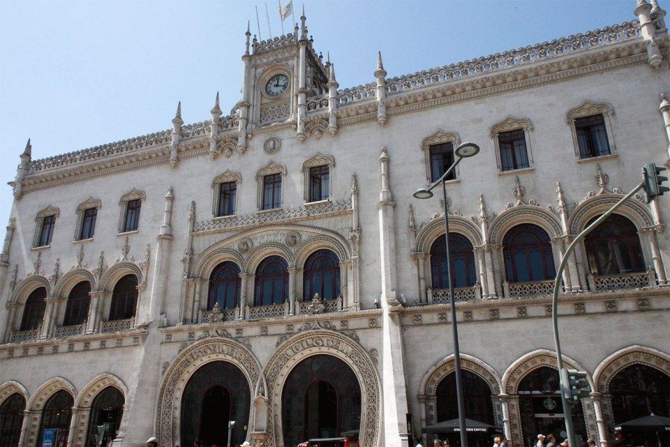 Bahnhof in Lissabon