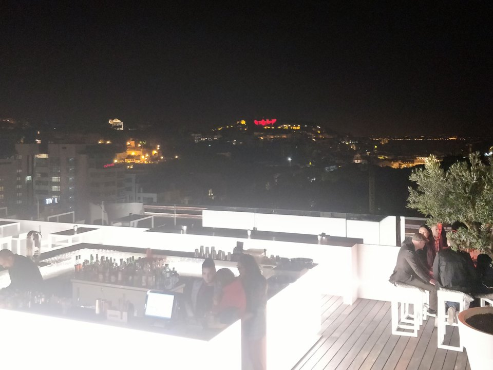 Sky Bar im Tivoli in Lissabon