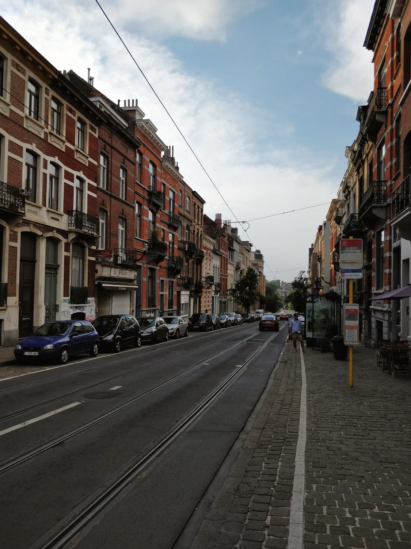 Straßenzug in Brüssel
