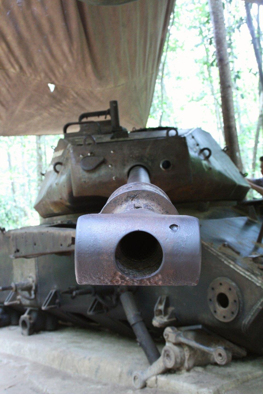 Panzer bei den Cu Chi Tunneln