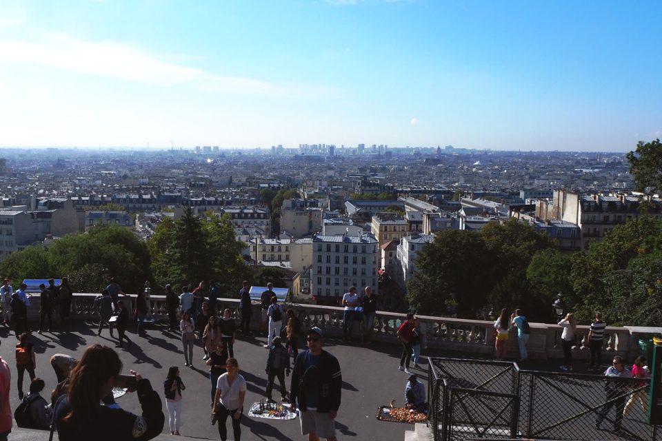 Sacre Coer Paris Aussichtspunkt