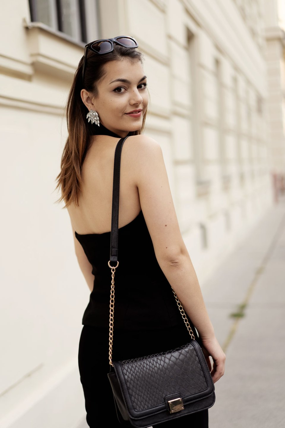Elegantes Outfit mit Schlaghose
