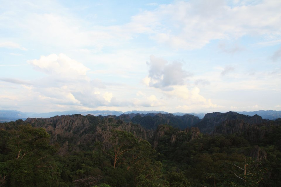 Mountains in Lao
