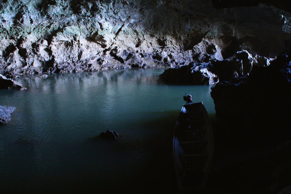 Cave at Thakhek Loop