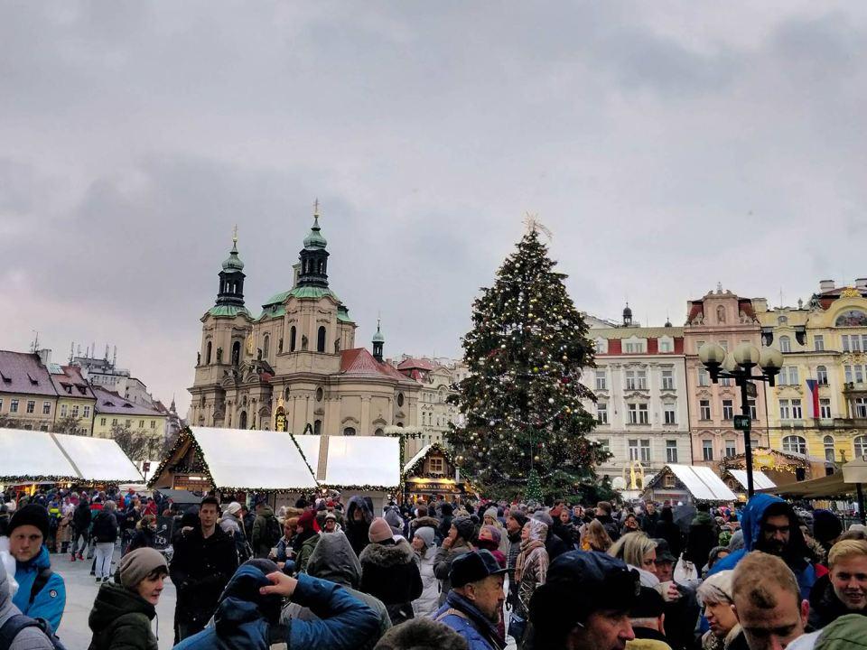 Prag Christmasmarket
