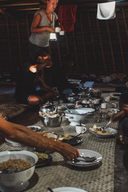 Essen im Wae Rebo
