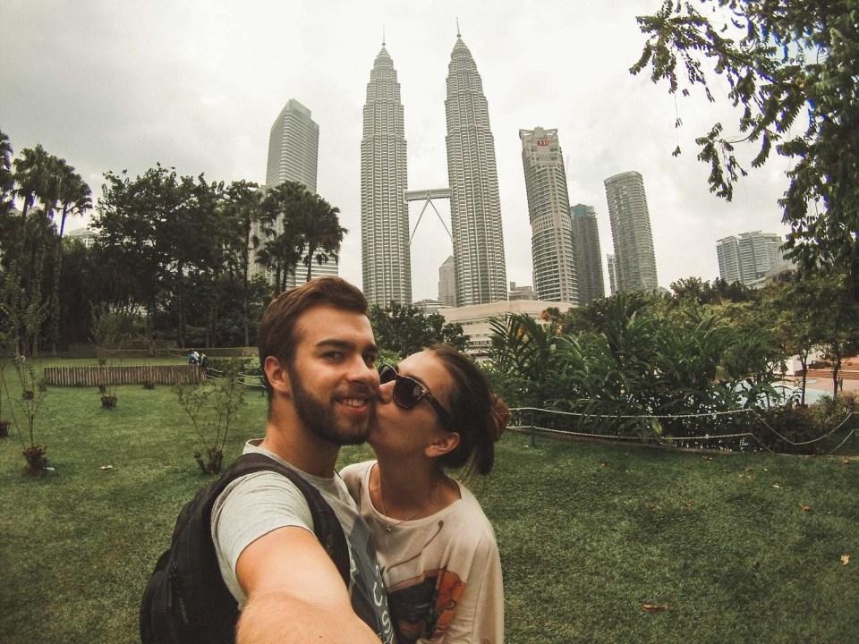 Bester Fotospot Petronas Towers Kuala Lumpur