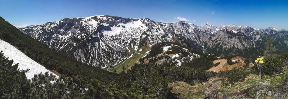 Panorama vom Bärenkopf