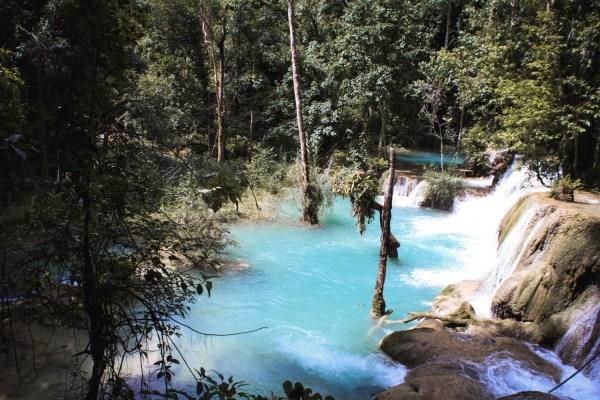 Luang Prabang Wasserfall