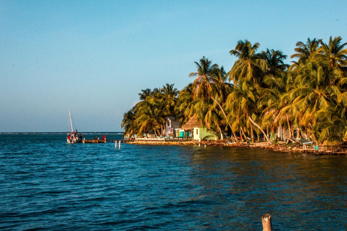 Tobacco Caye in Belize