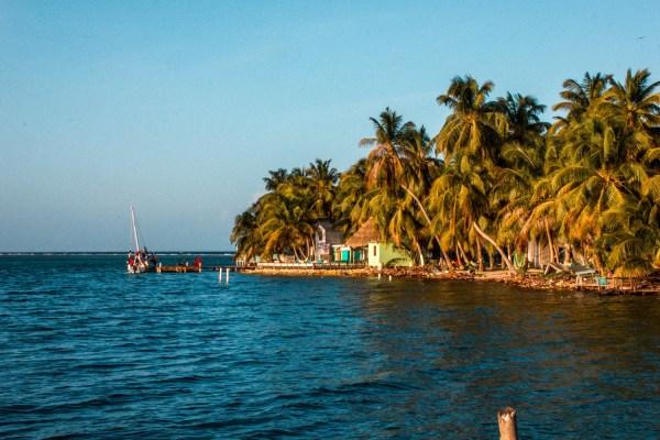 Tobacco Caye in Belize
