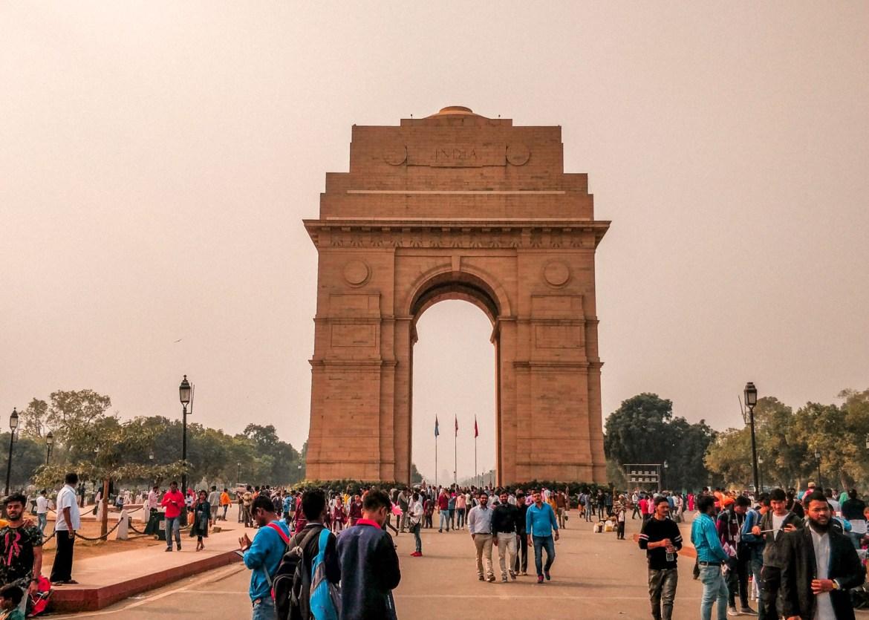 Delhi zu Fuß