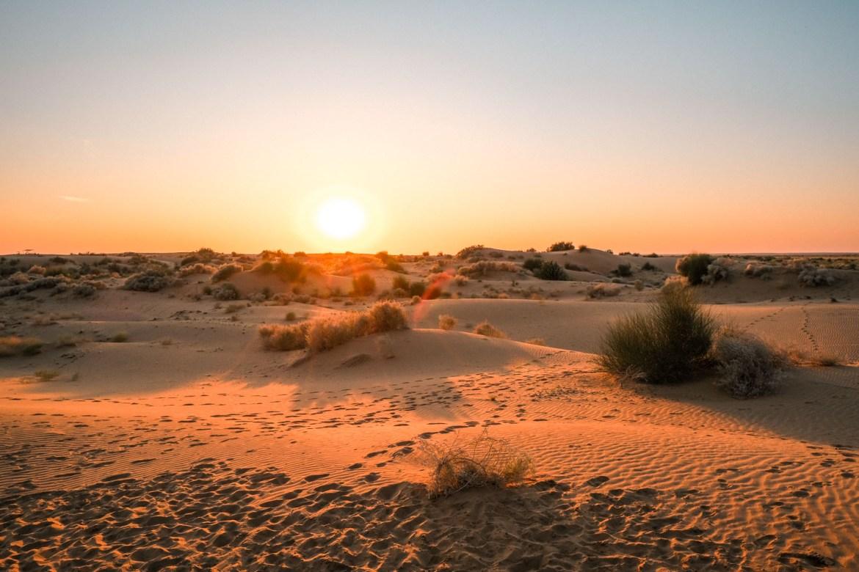 Kamelreiten in Jaisalmerr