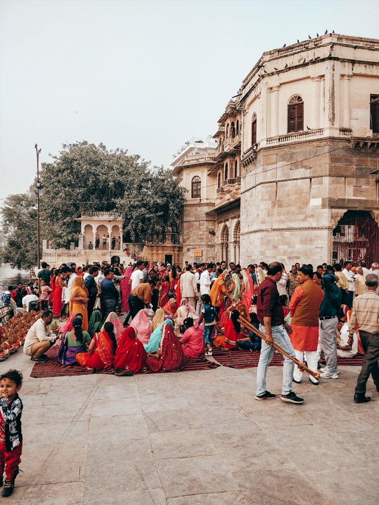 Indische Feier Udaipur