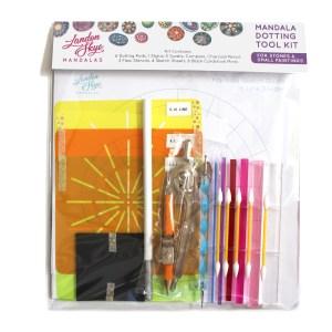 Dot Mandala Painting Kit – Dotting Tools and Stencils for Dot Mandala Painting