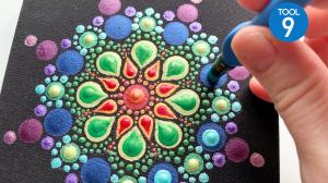 Dot Mandala Art Journal