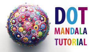 Dot Mandala Painting Tutorial