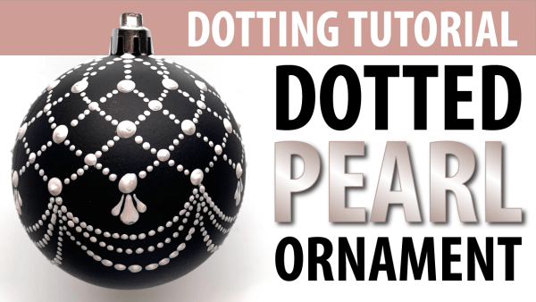 Dotting Tutorial - Christmas Ornaments