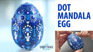 Dot Mandala Egg YouTube Tutorial