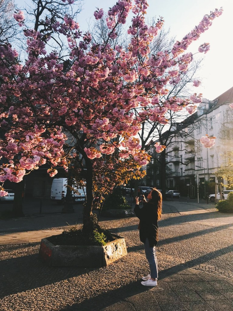 lisa taking pictures - spring in berlin