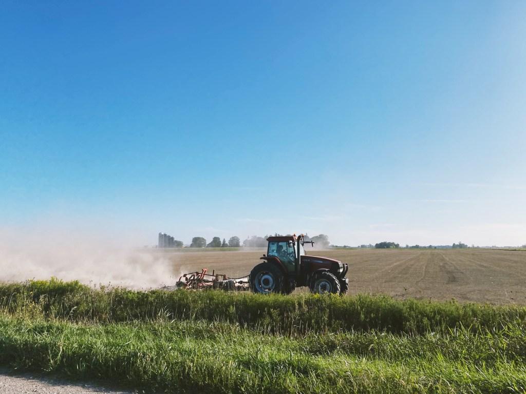 rural ontario tractor