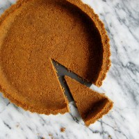 Homemade Gingersnap Cookie Crust