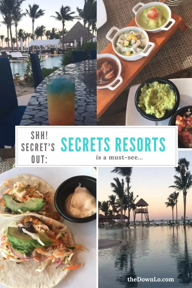 The truth about Secrets Resorts, a honeymoon resort in Tulum, Mexico. What it's like to stay at an all-inclusive hotel?