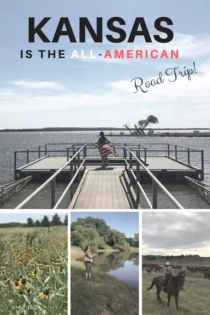 Why Kansas is a great road trip, the epicenter of the Midwest is a great All-American summer roadtrip.