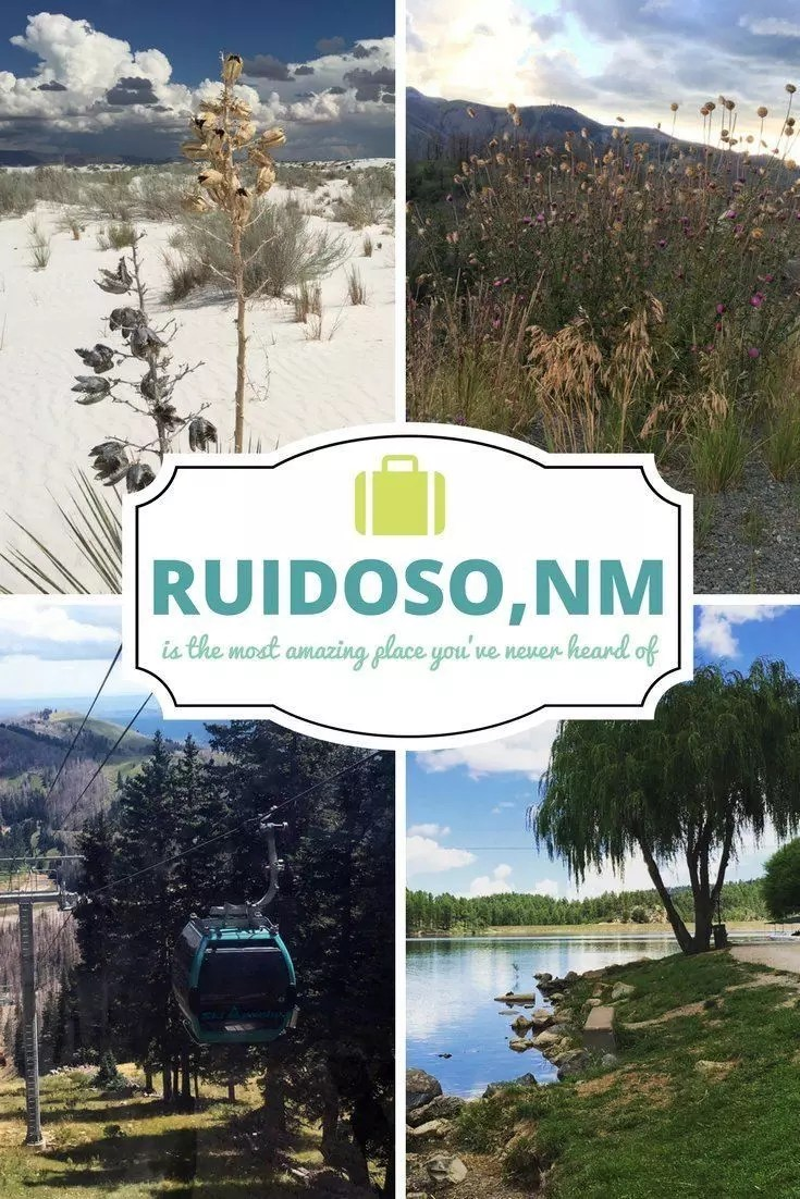 The best things to do in Ruidoso, New Mexico. White Sands National Monument and secret outdoor adventure spots in NM. Amazing places to go in New Mexico.