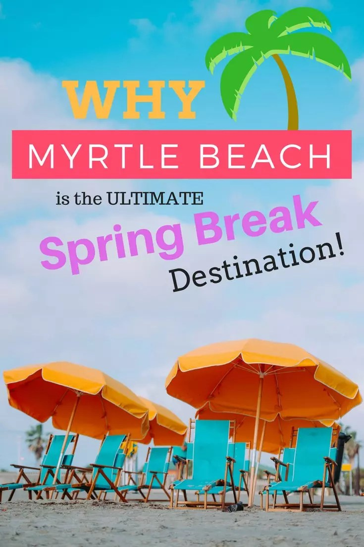 What to do in Myrtle Beach. The best places to eat and restaurants, things to do and outdoor adventures. A great spring break or summer trip to Myrtle Beach, South Carolina. #sc #myrtlebeach