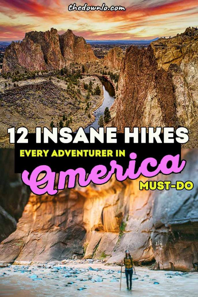 best hikes in america